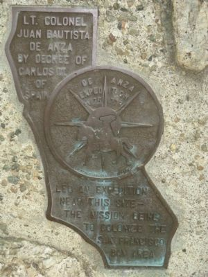 <i>Side 2:</i> De Anza Expedition Campsite Marker image. Click for full size.