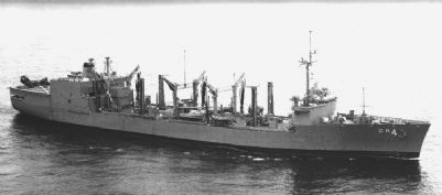 AOR 4 USS Savannah image. Click for full size.