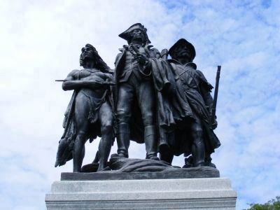 Fallen Timbers Battle Monument Marker image. Click for full size.