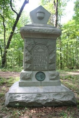 21st Ohio Infantry Marker image. Click for full size.
