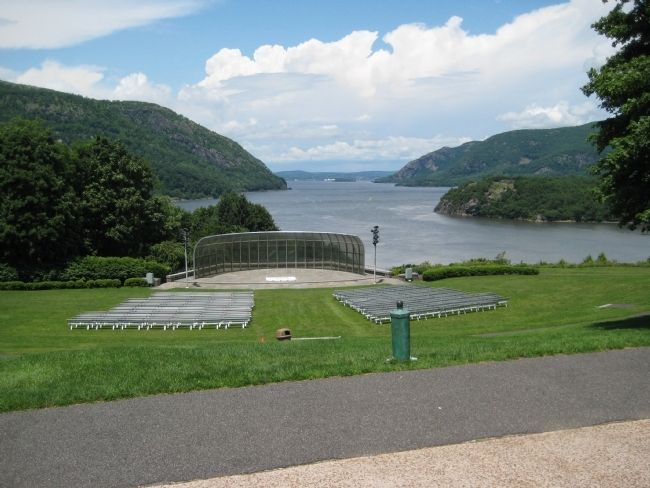 View of Hudson River at Trophy Point image. Click for full size.