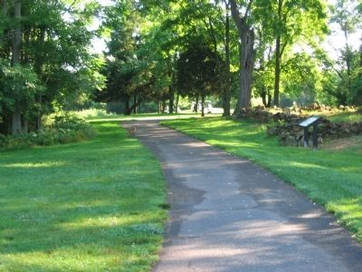 Marker on the Cart Path image. Click for full size.