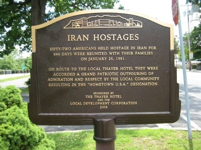 Iran Hostages Marker image. Click for full size.