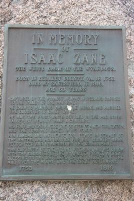In Memory of Isaac Zane Marker image. Click for full size.