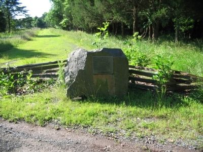 Vestal's Gap Road Marker Stone image. Click for full size.