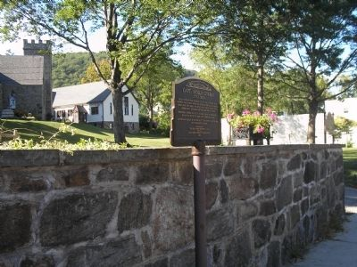 Marker in Highland Falls image. Click for full size.
