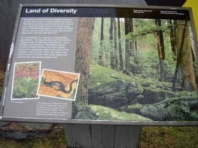 Land of Diversity Marker image. Click for full size.