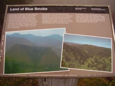 Land of Blue Smoke Marker image. Click for full size.