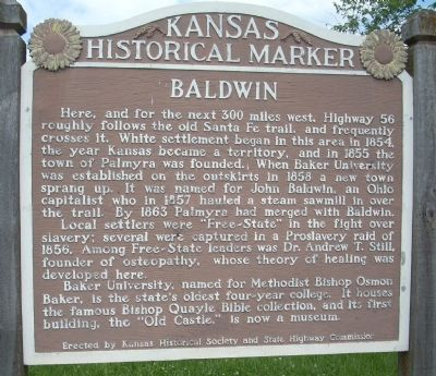 Baldwin Marker image. Click for full size.