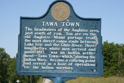Tawa Town Marker image. Click for full size.