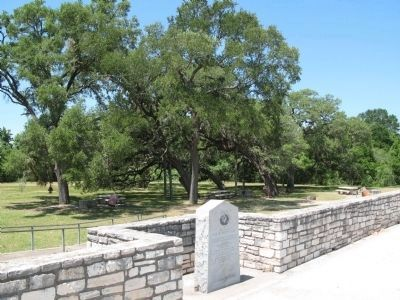 Site of Woods' Fort Marker image. Click for full size.