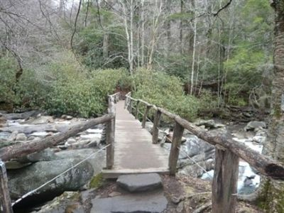 First bridge on the trail image. Click for full size.