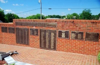 To the Valiant Citizen-Soldiers of Pickens County Memorial image. Click for full size.