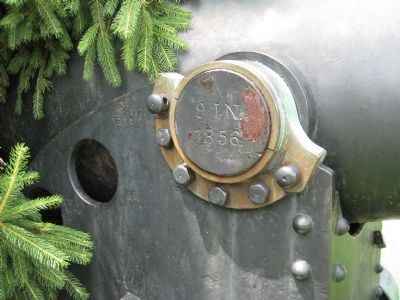 Cannon - Right side markings image. Click for full size.