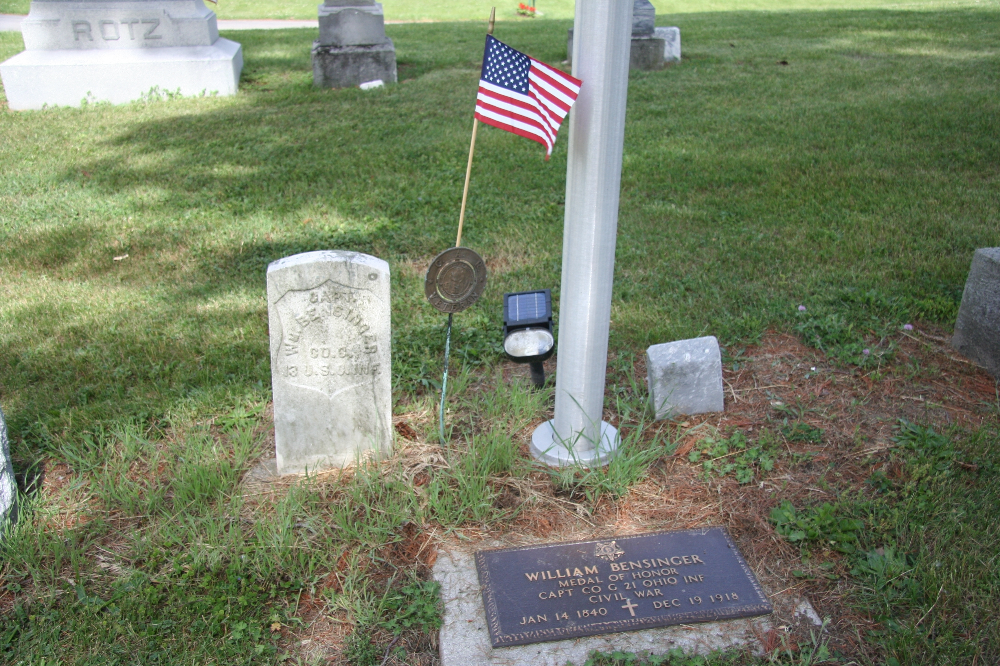William Bensinger Grave