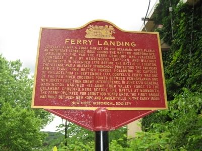 Ferry Landing Marker image. Click for full size.