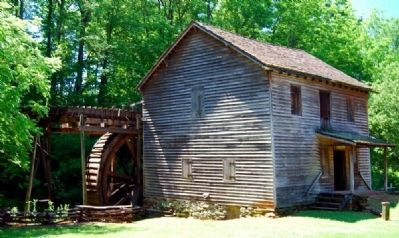 Hagood Mill - West Side image. Click for full size.