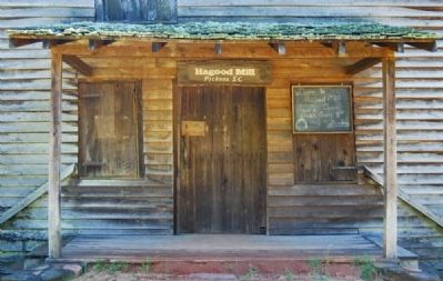 Hagood Mill - West Side Entrance image. Click for full size.