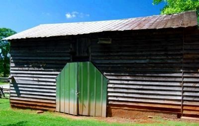 Hagood Mill Historic Site -<br>Old Mill Barn image. Click for full size.