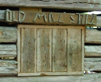 Hagood Mill Historic Site -<br>Old Mill Still image. Click for full size.