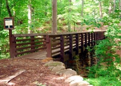 Paris Mountain Footbridge image. Click for full size.