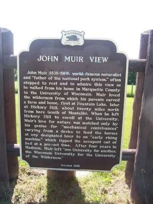 John Muir View Marker image. Click for full size.