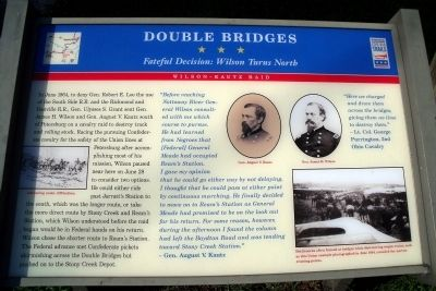 Double Bridges CWT Marker image. Click for full size.