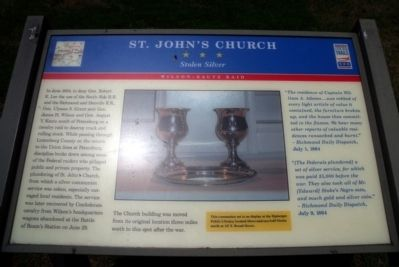 St. John's Church CWT Marker image. Click for full size.