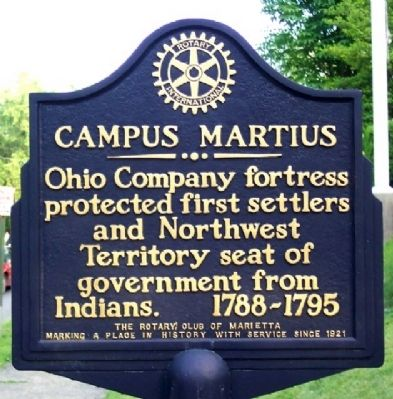 Campus Martius Marker image. Click for full size.