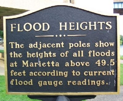 Flood Heights Marker image. Click for full size.