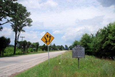 Boydton Plank Road (facing north). image. Click for full size.
