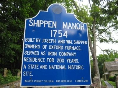 Shippen Manor Marker image. Click for full size.