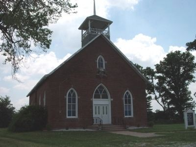 Osborn Prairie Church - - Built 1892 image. Click for full size.