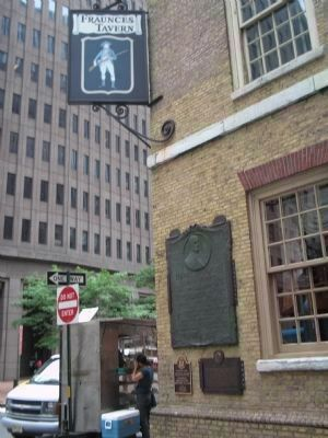 Fraunces Tavern Markers image. Click for full size.