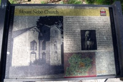 Mount Nebo Church CRIEHT Marker image. Click for full size.