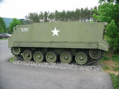 M59 Armored Personnel Carrier image. Click for full size.