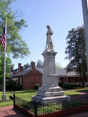 Nottoway Confederate Soldiers Monument image. Click for full size.