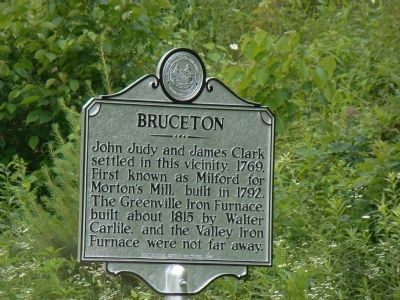 Bruceton Marker image. Click for full size.