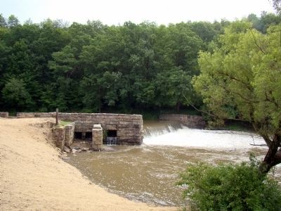 Bruceton Mill Dam image. Click for full size.
