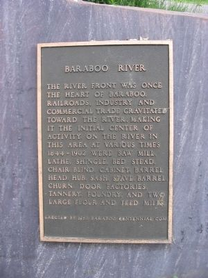 Baraboo River Marker image. Click for full size.