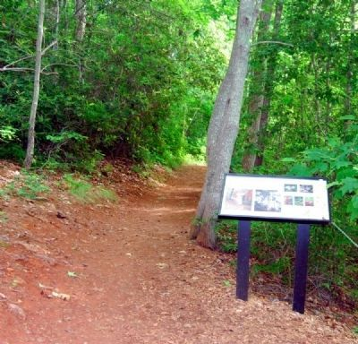 Lake Placid Trail: A Walk on the Wild Side Marker and Trail image. Click for full size.