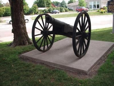 Front View - - Second Street Cannon image. Click for full size.
