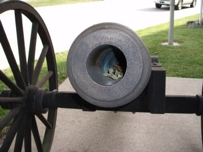 Muzzle View - - Second Street Cannon image. Click for full size.
