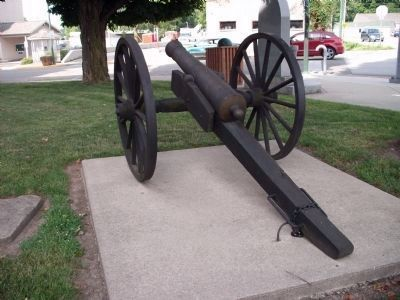 Rear View - - Second Street Cannon image. Click for full size.