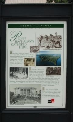 Palmetto Bluff Marker image. Click for full size.