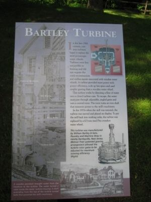 Bartley Turbine Marker image. Click for full size.
