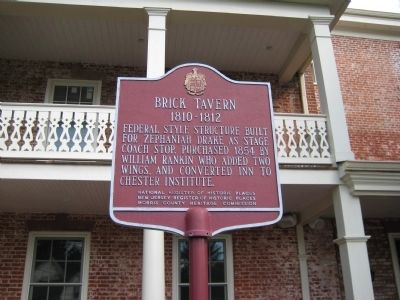 Brick Tavern Marker image. Click for full size.