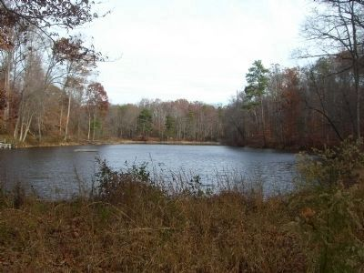 Fussell's Mill Pond. image. Click for full size.