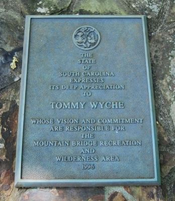Tommy Wyche Marker image. Click for full size.