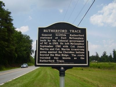 Rutherford Trace Marker image. Click for full size.